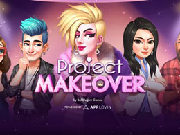 素人变身时尚达人!三消新游《Project Makeover》132国免费榜TOP10