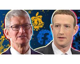 苹果和 Facebook 几乎没有竞争,但彼此看不上对方