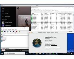 Win10 和 Linux 都已可在苹果 M1 Mac 上运行
