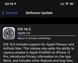 iOS 14.3 RC 2已到,附更新内容及升级方法