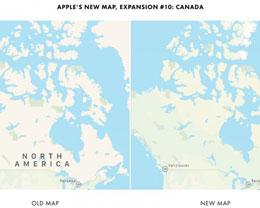 经过重新设计的苹果地图应用现已在加拿大推出