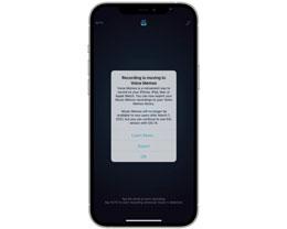 苹果将停止更新「音乐备忘录」应用,鼓励用户过渡到「语音备忘录」