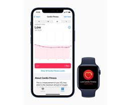 Apple Watch 今日推出有氧适能通知功能,苹果官方解读