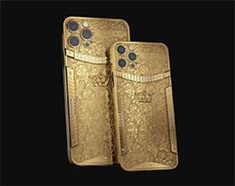 Caviar 定制 iPhone 12 Pro 纯金版:限量 7 部,每部近 80 万元