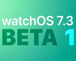 苹果发布 watchOS 7.3 开发者预览版 Beta