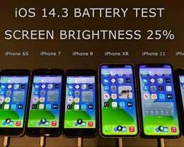旧iPhone升级iOS 14.3后续航较iOS 14.2有改善吗?