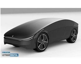 设计师分享苹果概念智能汽车非官方 3D 渲染图