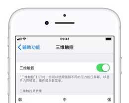 iPhone XS 上的 3D Touch 功能如何打开?3D Touch 能做什么?