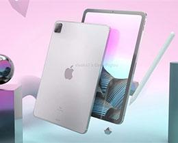 iPad Pro 2021 款全新渲染图曝光:两种尺寸,硬件配置大幅升级