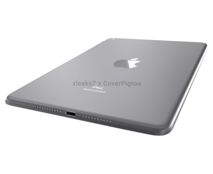 iPad Mini 6 高清渲染图曝光:采用屏下 Touch ID