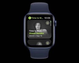 "苹果 Fitness+ Apple Watch ""去散步"" 即将推出"