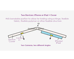 苹果可折叠手机专利曝光:多个摄像头拍出更好的照片