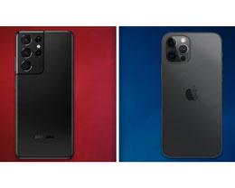 三星 S21 Ultra 对比苹果 iPhone 12 Pro Max 相机评测视频
