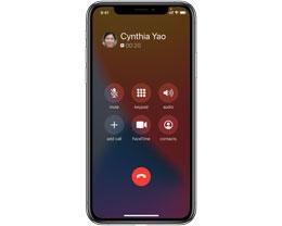 iPhone 在通话过程中如何接听第二通电话?