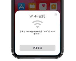 如何通过 iPhone 12 共享 Wi-Fi 密码?