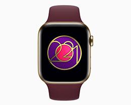 """苹果 Apple Watch""""国际妇女节""""奖章亮相,运动 20 分钟可获得"""