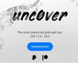 unc0ver 6.0更新,支持iOS 14.3全设备越狱