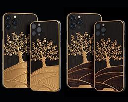 iPhone 和 iPad 限量定制版亮相,金苹果树跃然于机身