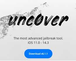 Unc0ver发布v6.1.1稳定版,iOS 14.3以下iPhone均可越狱