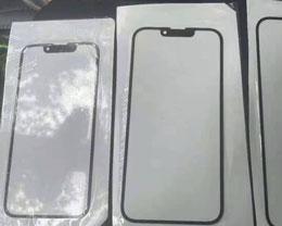iPhone 13 前面板曝光,刘海更小,听筒在顶部