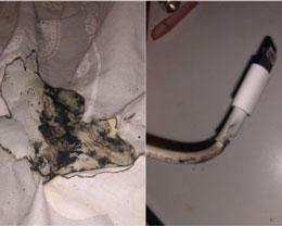 英国少女因 iPhone 充电器起火而面部烧伤