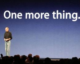 """英国法庭判决苹果不能独享 """"One More Thing"""""""