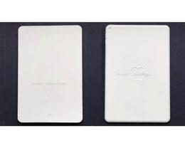 iPad mini 6 模型曝光:采用全面屏、屏下指纹设计