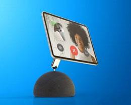 未来苹果 HomePod 或能通过机械臂连接 iPad