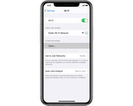 如何在 iPhone 上连接到隐藏的无线局域网?