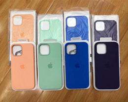 iPhone 12 系列春季配色硅胶手机壳曝光
