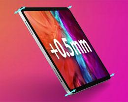2021 款 12.9 英寸苹果 iPad Pro 比上代厚 0.5 毫米