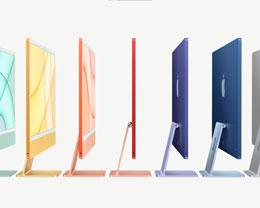 苹果全新 24 英寸 M1 iMac 国行发布:4.5K 视网膜显示屏