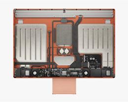 iMac 2021 内部构造:主板放在下巴里,超迷你双风扇