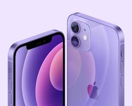 苹果全新紫色 iPhone 12 系列今日开启预购