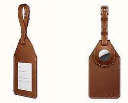 爱马仕官网上架包含 AirTag 的皮革行李牌:售价 699 美元