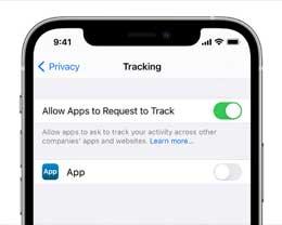 """为何iOS 14.5""""允许App请求追踪""""按钮是灰色?苹果官方解释"""