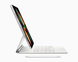 苹果:12.9 英寸 M1 iPad Pro 与旧款妙控键盘兼容