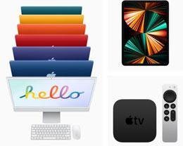 苹果:新款 iMac、iPad 将于本周五上架,5 月 21 日交付
