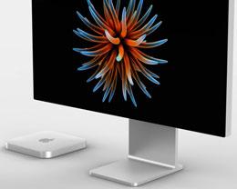 高端 Mac Mini 渲染图曝光:全新自研芯片 + 磁吸式电源接口