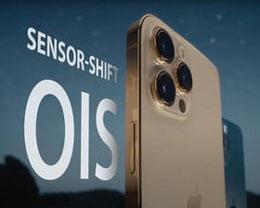 iPhone 13 全系支持传感器位移式光学图像防抖功能