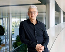 苹果 CEO 库克 2020 年薪酬 1400 万美元,员工薪酬中位数为 57783 美元