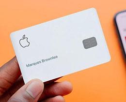 苹果公司:部分用户目前无法操控 Apple Card 和进行支付