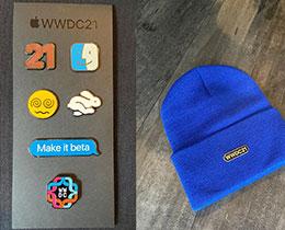 WWDC21: Swift 学生收到开发者纪念品