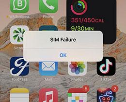 iOS 14.7 测试版出现 SIM 卡失效的问题
