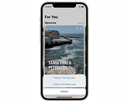 iOS 15 优化照片 App 回忆功能,可减少某人的出现频率
