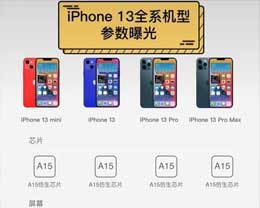 关于iPhone 13你想知道什么?iPhone 13详细参数来了