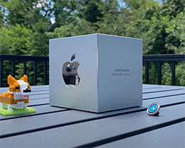 CARROT 分享苹果设计大奖铝合金实心方块开箱