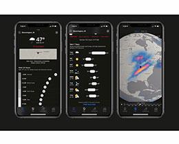 苹果发布 Dark Sky  天气应用更新