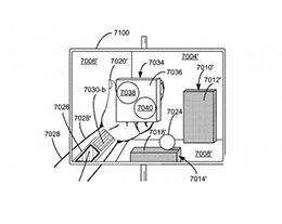 新专利显示苹果眼镜可以将虚拟控制面板放在佩戴者的手中