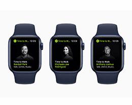 """Apple Fitness+ 新增""""是时候走路了""""课程"""